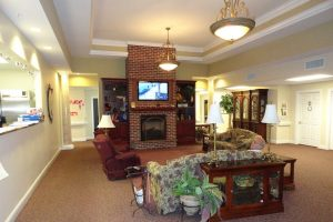 Image Gallery | Community Common Area With Fire Place & Television