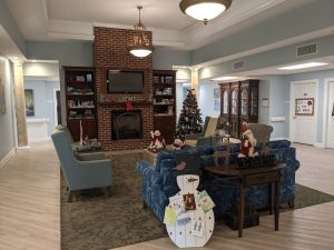 Holidays at our assisted living cottages