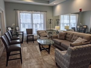 Sitting area of our memory care facility